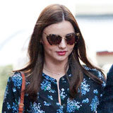 Miranda Kerr's Floral Blouse Is Perfect For Work and Play