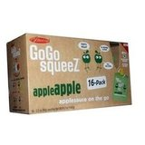 GoGo Squeez Applesauce on the Go (3.2-Pound Box, $15)