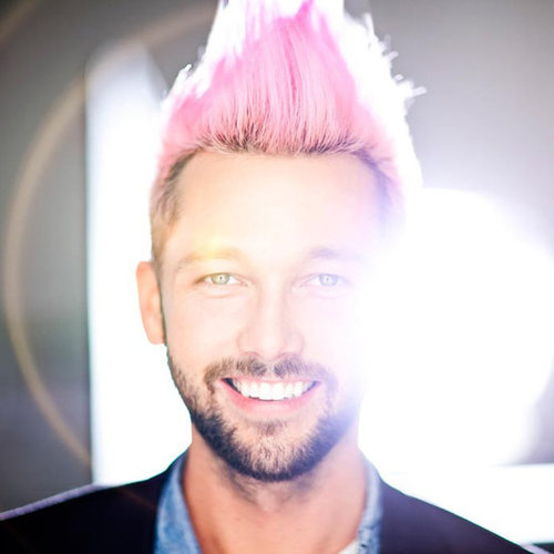 Why Chris Benz Dyes His Hair Pink