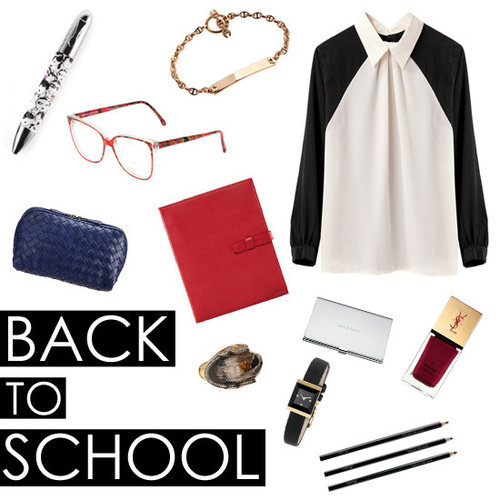 Luxury Back to School Essentials Fall 2012