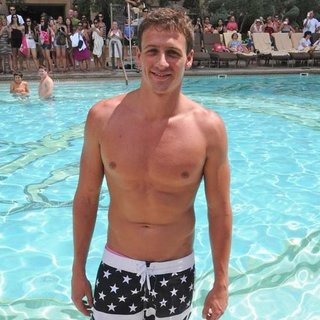 Prince Harry Races Ryan Lochte in Vegas Pool (Video)
