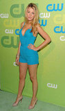 Blake Lively went short and bright in a romper for a May 2009 appearance in LA.