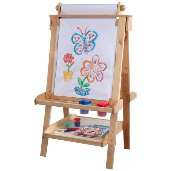 KidKraft Deluxe Wood Easel ($165)