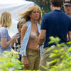 Jennifer Aniston in Nude Bra Pictures on We&#039;re the Millers Set