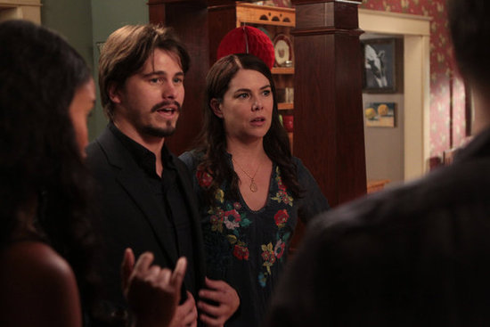 Knowing the Bravermans, they've probably got a lot to say about Mark's (Jason Ritter) proposal to Sarah (Lauren Graham).