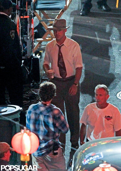 Ryan Gosling did Gangster Squad reshoots.