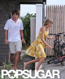 Taylor Swift and Conor Kennedy Share a Kiss on the Cape