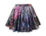 Triangle Print Skirt ($98)