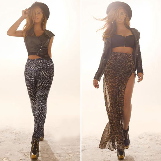 Beyoncé Is Pure Rock 'n' Roll in House of Deréon's Fall Ads