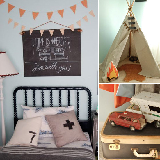 Vintage-Inspired Big Boy Room