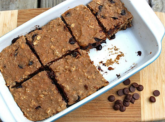 For a healthy snack on the go, try these  banana carob protein bars. These are sure to keep you energized during a long workday.
