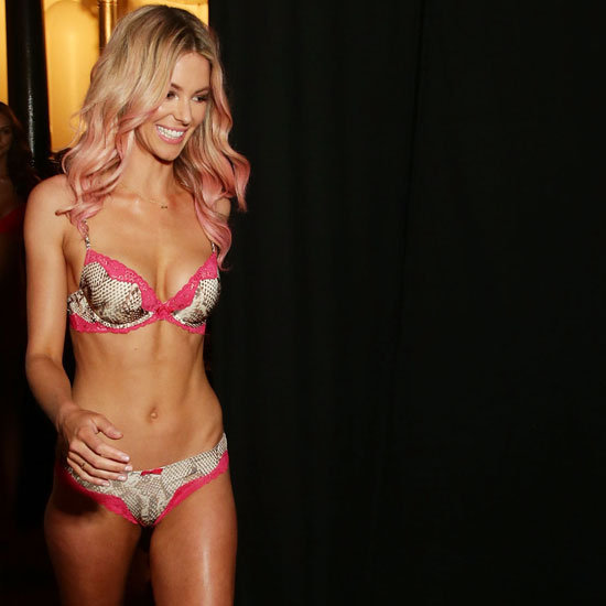 Jennifer Hawkins In Her Sexy Lovable Lingerie for the Bendon Underwear Runway Show at Mercedes Benz Fashion Festival Sydney