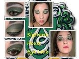 Slytherin House Eye Look