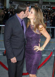 John Travolta and Kelly Preston stuck close at the June LA premiere of Savages.
