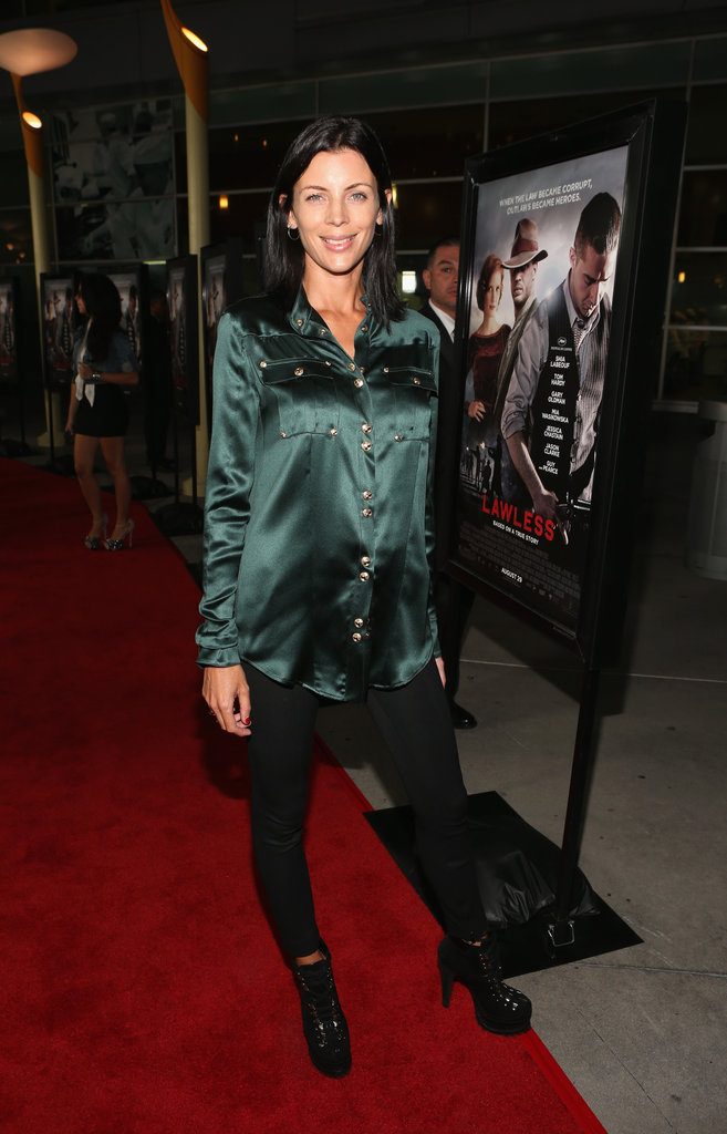 Liberty Ross stepped out to support the premiere of Lawless in LA.