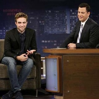Robert Pattinson on Jimmy Kimmel Live (Video)
