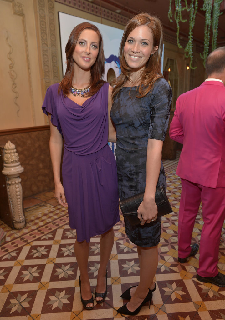 Mandy Moore and Eva Amurri took a photo together.