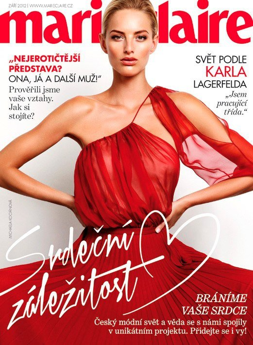 Marie Claire Czech September 2012