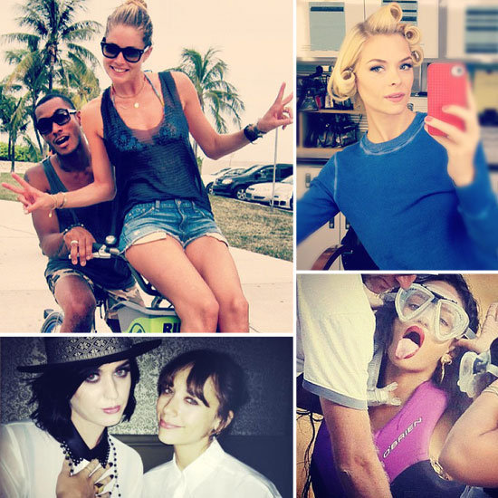 As usual, our favorite celebs gave us a sneak peek into their fabulous lives with these social media snaps.