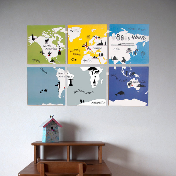 Kids World Map ($13)