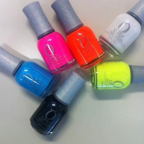 These arrived, we all squealed. The end. Orly's new neon collection hits shelves November 1, so start the countdown...