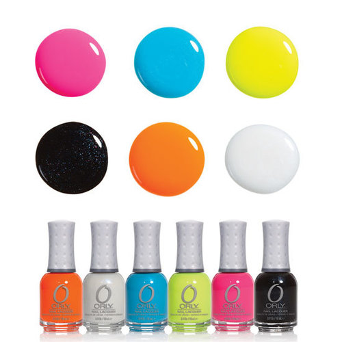 Orly's New Feel the Vibe Neon Nail Polish Collection