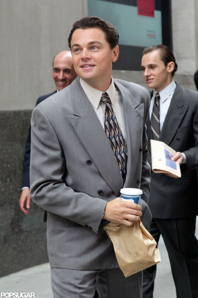 Leonardo DiCaprio Works His Charm on Wall Street