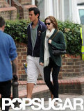 Emma Watson Returns to London to Hang With Her Man