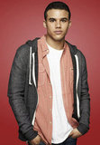 Jacob Artist as Puck's little brother Jake on Glee.