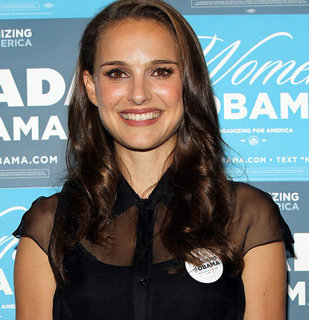 Natalie Portman at Las Vegas Obama Event | Pictures
