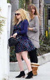 Pregnant Anna Paquin walked in LA.