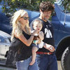 Kimberly Stewart and Benicio Del Toro With Delilah