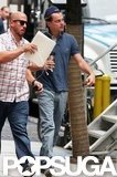 Leonardo DiCaprio was at work in NYC.