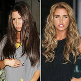 Katie Price New Brunette Hair