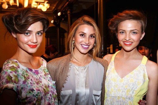 The Whitney Whip: Whitney Port's Sweet Hair Look For Mercedes-Benz Fashion Festival
