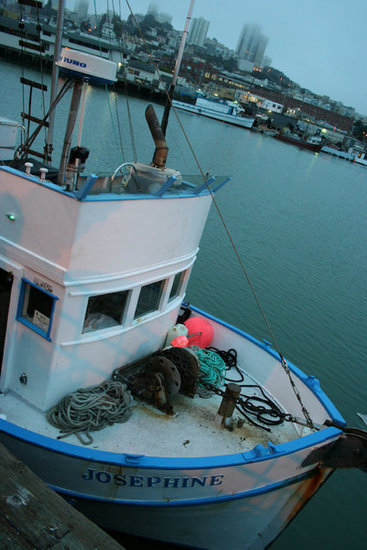 A Salmon Fishing Boat