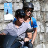 George Clooney Vacation Pictures