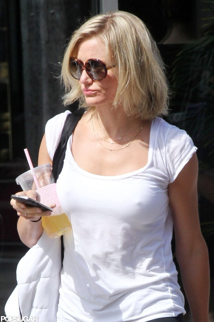 Cameron Diaz Wraps Up Her 30s With a Workout and Shopping Trip