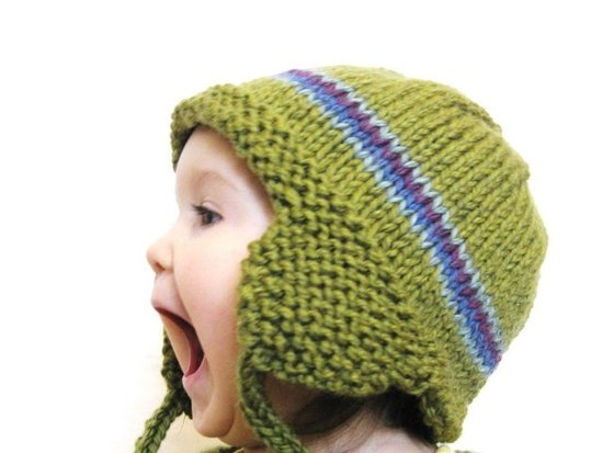 Knit Earflap Hat ($36)