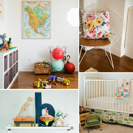 Habitacion Decoracion Vintage ~ Modern Vintage Shared Kids Room  POPSUGAR Moms