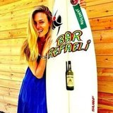 Bar Refaeli turned 27 on June 4 and was gifted a personalised surf board.