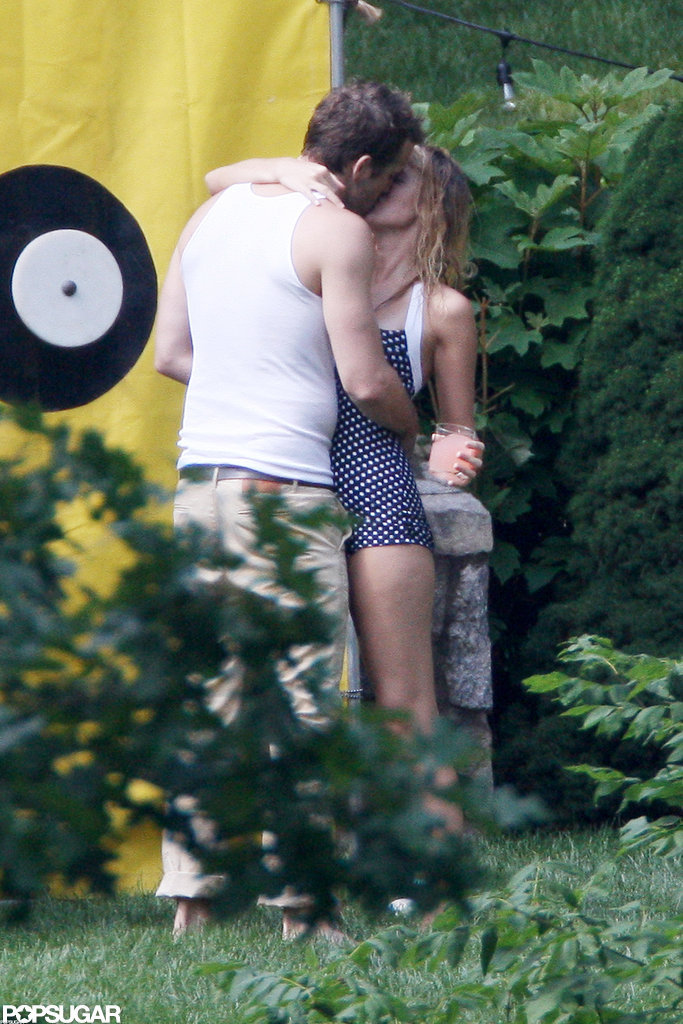 Blake Lively and Ryan Reynolds embraced during a family Fourth of July celebration in New York.