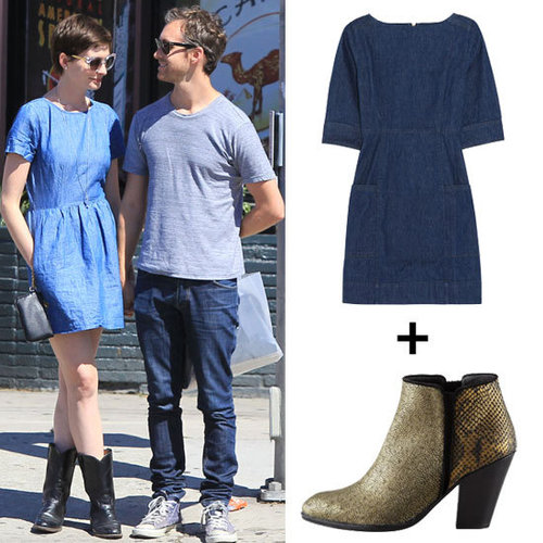 Cute Denim Dresses For Fall 2012