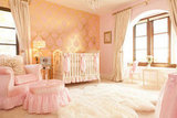 A Pink and Gold Princess Pad For a Glam Baby Girl