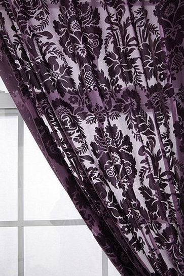 Thanks to the soft velvet material and a damask pattern, this Urban Outfitters Damask Velvet Burnout Curtain ($59-$69) is a luxe, romantic option for any room.