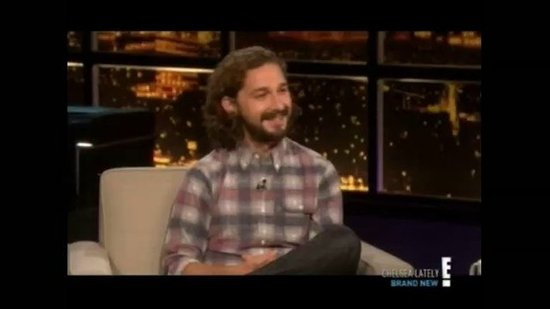 Shia LaBeouf Jokes That He Got His New Role With His Own Sex Tape