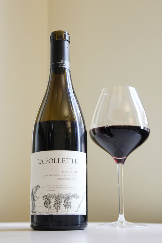 Aug. 30: 2009 La Follette Manchester Ridge Pinot Noir