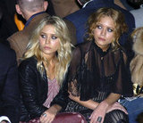 Mary-Kate Olsen and Ashley Olsen took it all in at Badgley Mischka in NYC back in February 2006.