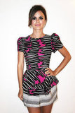 Rachel Bilson wore a printed Suno minidress while hosting a party at Sunglass Hut during Fashion's Night Out in 2010.
