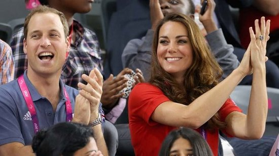Video: Kate and Will Do the Wave — Plus, Details on a Diana Tribute